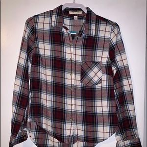Slim fit flannel
